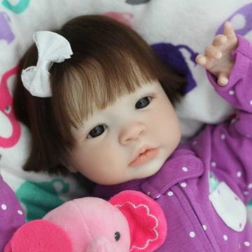Boneca Bebê Reborn Audry