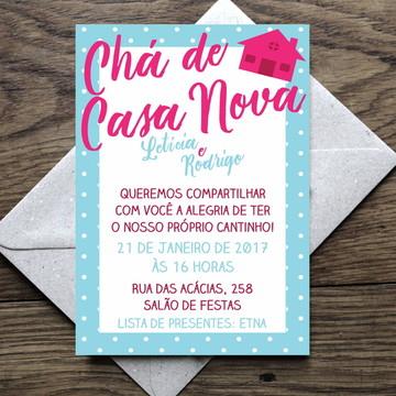 Arte Convite Open House / Casa Nova 0004