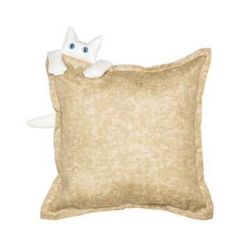 Almofada com aplicação de gatinho