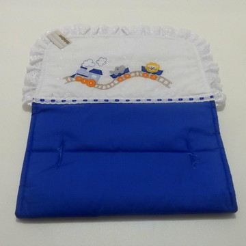 Forro Para Carrinho - Trenzinho (azul)