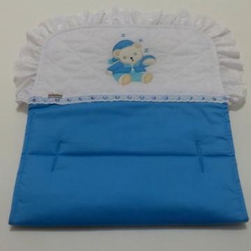 Forro Para Carrinho - Ursinho (azul)
