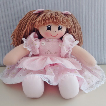 Boneca de pano Maria Chiquinha