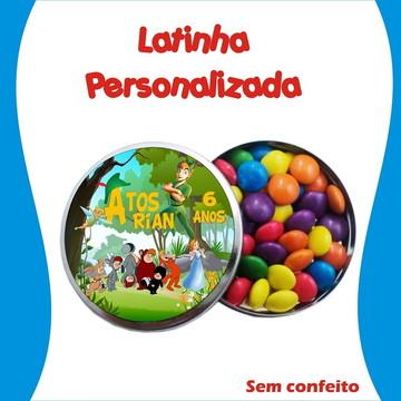 Latinha Peter Pan