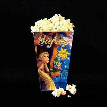 Caixa de Pipoca Rapunzel Enrolados