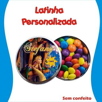 Latinha Rapunzel Enrolados