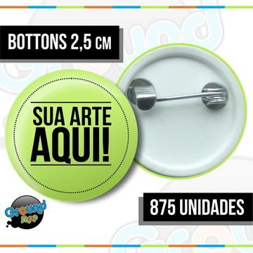875 Bottons 2,5 Personalizados - Boton