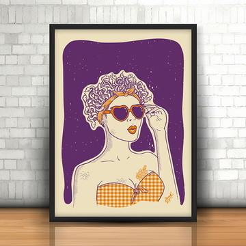 """Poster """"Menina Veneno"""""""