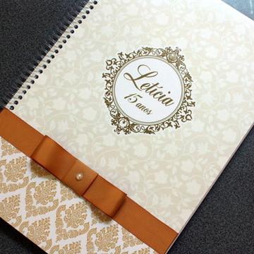 Caderno Assinatura - 15 anos - Arabesco