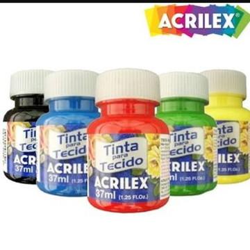 Tinta Tecido Acrilex 37ml