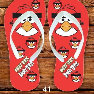 Chinelo Festa Infantil Angry Birds