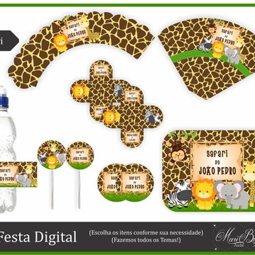 Kit Festa Digital - Safari