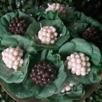300 Forminhas de Crepom Verde Musgo