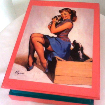 Porta-joia Pin-up