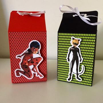 Caixa Milk - Lady bug e Catnoir