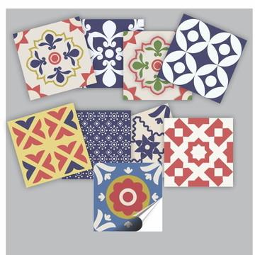 Azulejo Adesivo Kit Cisseu