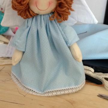 Anjo em tecido