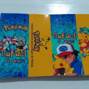 rotulo para caixa de suco pokemon