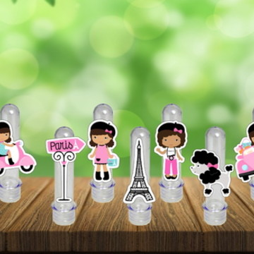 Tubete Paris Festa Aniversario Personalizada