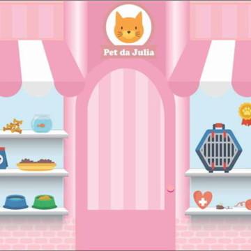 Painel Pet Shop G - Frete Grátis