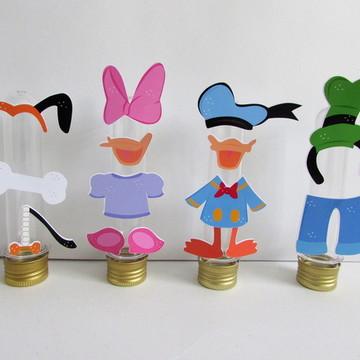Aplique para Tubete Mickey e Minnie