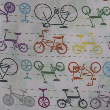 Tecido Bicicletas