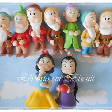 Branca de neve e os sete anões +madrasta