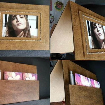 Porta Retrato . Porta retrato artesanal.