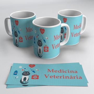 Caneca Profissões - Medicina Veterinária