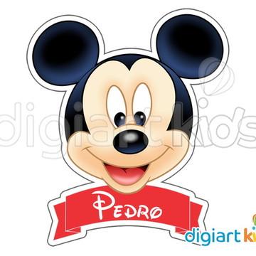 Placa Painel para Decoração Festa Mickey