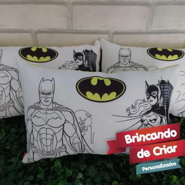 Almofada Batman para COLORIR