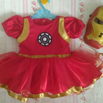 vestido Menina de Ferro