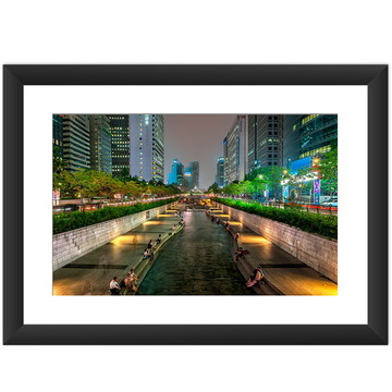 Quadro Seul Coreia Cidade Oriente Arte