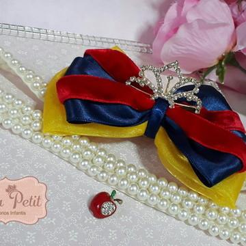 Faixa Princesa Vermelho azul e amarelo