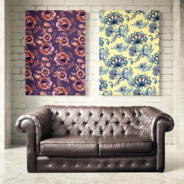 Poster Digital - Kit Floral