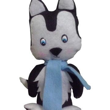 Husky Siberiano - Feltro