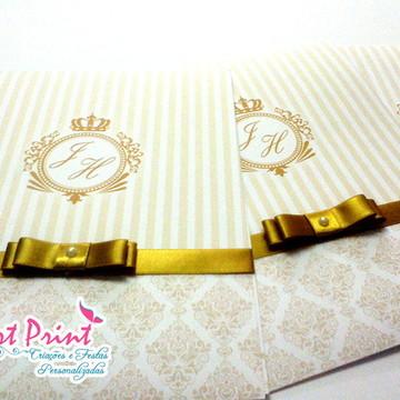 Convite de casamento - JH