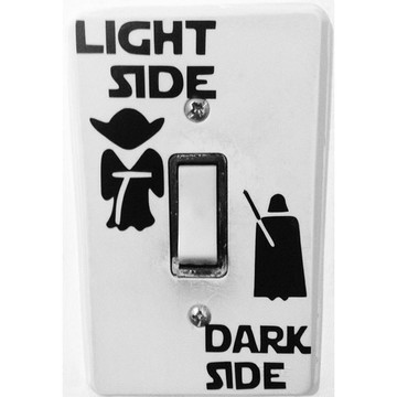 Adesivo Star Wars Interruptor de Luz