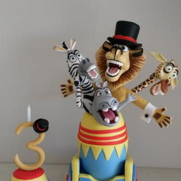 Madagascar no canhão!(cena do filme)