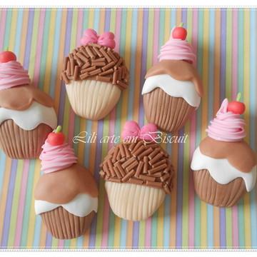Porta guardanapo Cupcake Brigadeiro