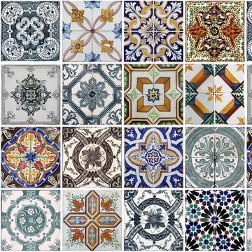 Papel de Parede Azulejo Cozinha