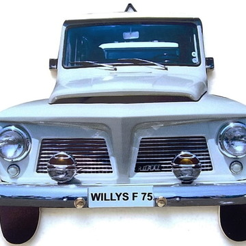 Porta Chaves Willys F75