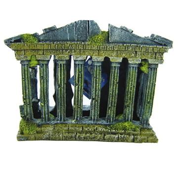 Enfeite Para Aquário Ruina Grega