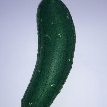 Legumes Decorativos de Feltro - Pepino