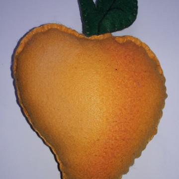 Frutas Decorativas de Feltro - Pêssego