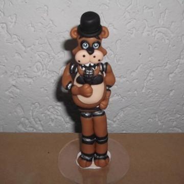 Topo de bolo Five Nights at Freddy Animatronics