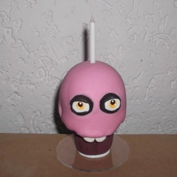 Mini topo de bolo Five Nights at Freddy Animatronics