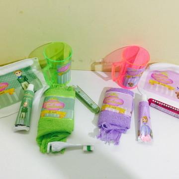 Kit higiene princesa sofia
