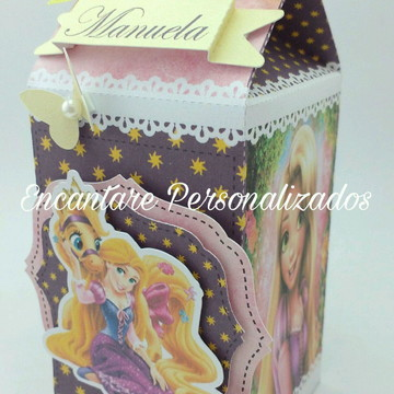 Caixa Milk Rapunzel Enrolados