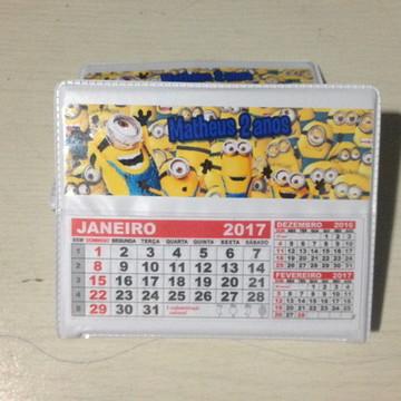 Calendario de mesa minions