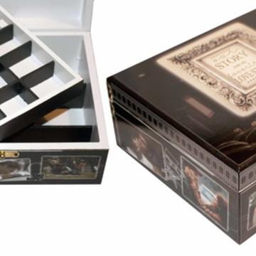 Caixa de jóias personalizada presente 304